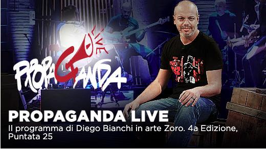 Colapesce e Dimartino, Valerio Aprea e Zerocalcare a Propaganda Live su La7