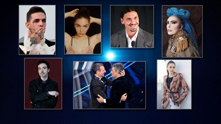 Sanremo 2021, prima serata: ospiti Loredana Berté, Diodato, Zlatan Ibrahimović
