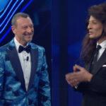 Sanremo 2021 quarta serata Ascolti tv rai uno
