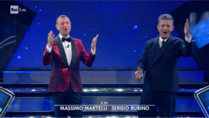 Ascolti tv 4 marzo, la terza serata di Sanremo stabile