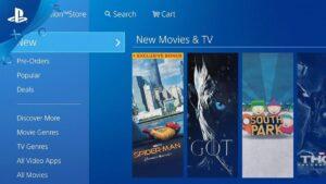 PlayStation: Sony abbandona la vendita e il noleggio di film e serie TV