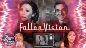 FallonVision: ecco la parodia di WandaVision con Jimmy Fallon ed Elizabeth Olsen