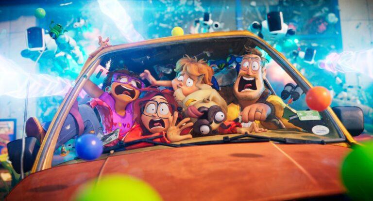 I Mitchell contro le macchine, arriva su Netflix il nuovo film d'animazione dagli autori di Lego The Movie