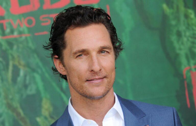 L'attore premio Oscar Matthew McConaughey super ospite a Che tempo che fa