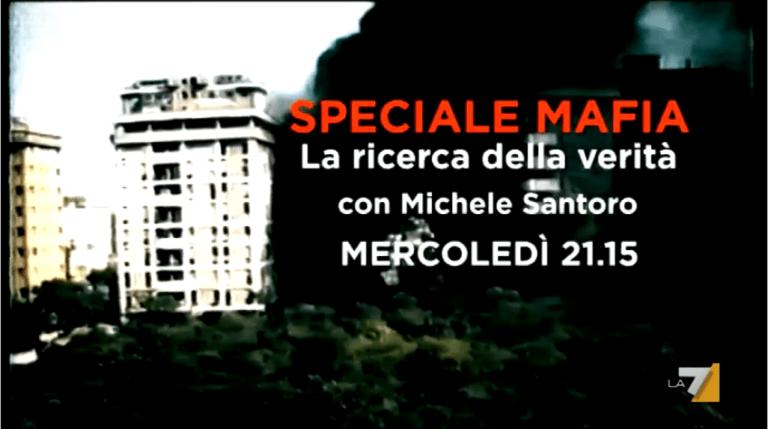 Mafia – La ricerca della verità, speciale con Enrico Mentana, Andrea Purgatori e Michele Santoro su La7