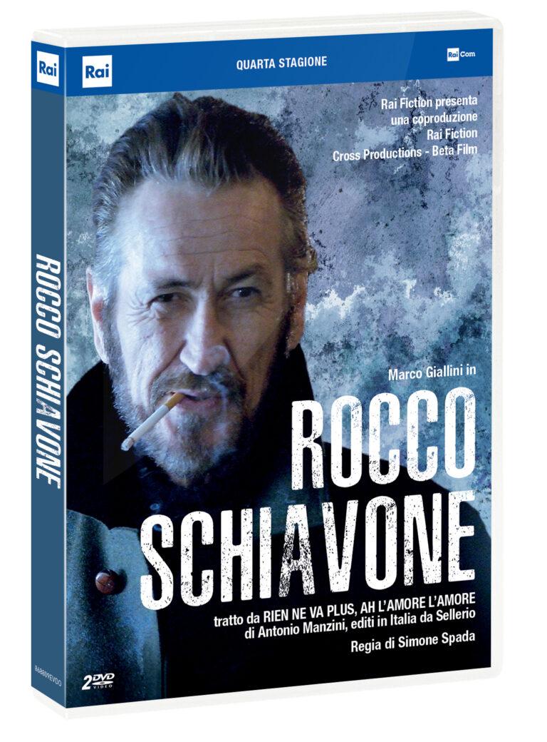 Rocco Schiavone, la quarta stagione in DVD