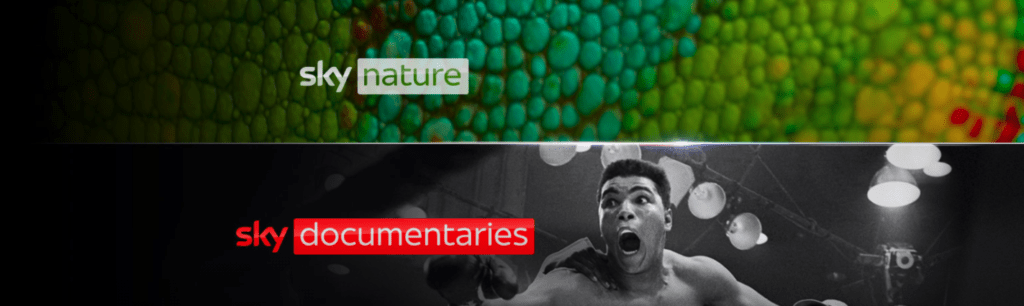 Sky Nature e Sky Documentaries