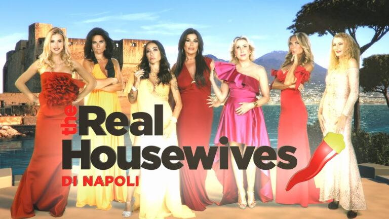 """""""The Real Housewives di Napoli"""",  su discovery+ tornano le """"regine"""" chic partenopee"""