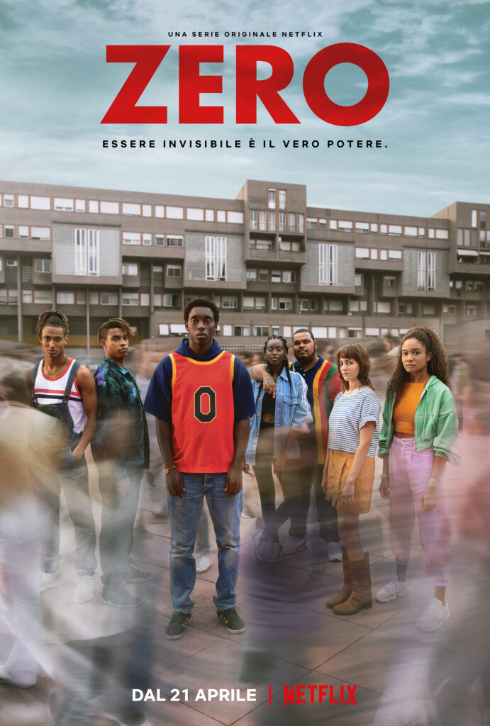 Zero serie Netflix poster