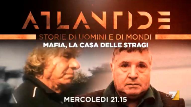 """""""Mafia – La casa delle stragi"""" in Atlantide con Andrea Purgatori su La7"""