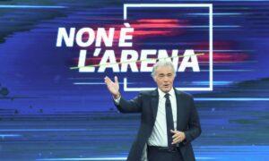 Grillo-gate e piano pandemico a Non é l'Arena su La7