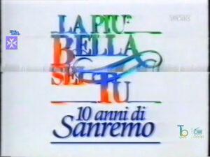 La più bella sei tu, nel 1991 Luciano Rispoli omaggiava il Festival di Sanremo su Telemontecarlo