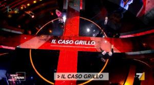 Il caso Grillo, vaccinazioni a Non é l'Arena su La7