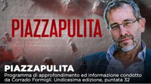 Caos giustizia, vaccini e pandemia a Piazzapulita su La7